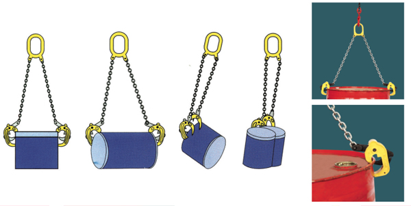 sl双链油桶链-起重吊钳-河北互生(集团)起重设备制造