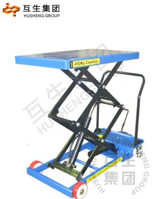 yc超低型脚踏式升降平台-移动液压升降平台车系列图片